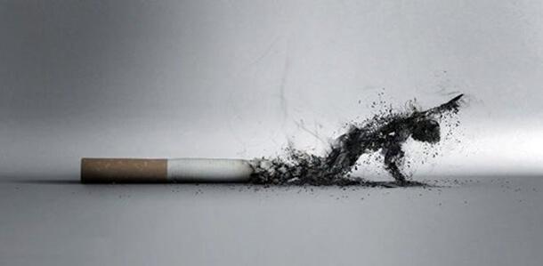 legamento d'amore con sigaretta