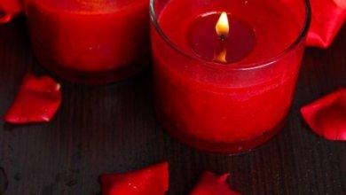 incantesimo candela rossa e spilli